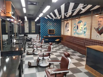 Babylon Barber Commercial Hairdresser fit out