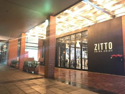 Zitto Cafe, Commercail Cafe plumbing and gas shop fit out